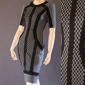 "BCBG MAXAZRIA ""Camellia"" Dress Size M"